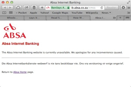 Absa-Internet-banking-unavailable