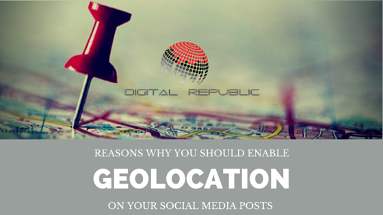 Reasons why you should enable geolocation